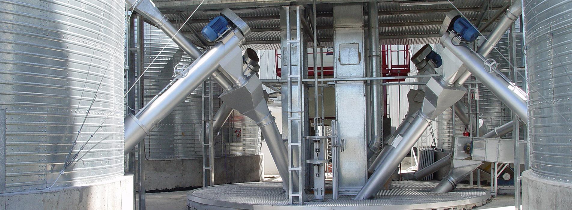 roscas extractoras para silos imagenes