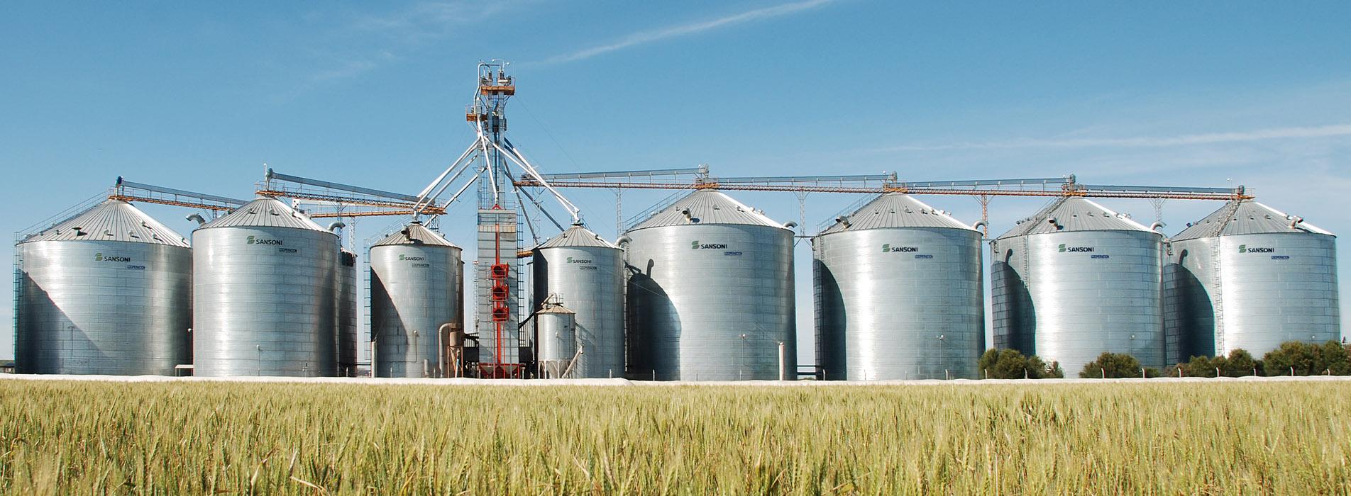 silos metalicos sansoni plantas